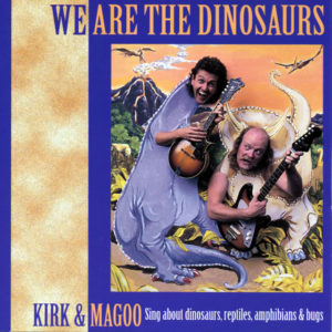CD cover of We Are The Dinosaurs