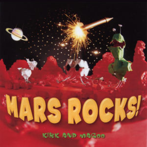 Cover artwork of the MARS ROCKS! CD